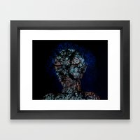 Vines and Confines  Framed Art Print