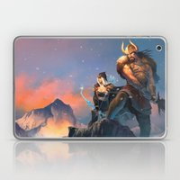 League of Legends-Tryndamere and Ashe Laptop & iPad Skin