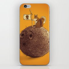 Conquering the biggest nut iPhone & iPod Skin