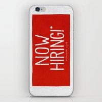 Now Hiring iPhone & iPod Skin