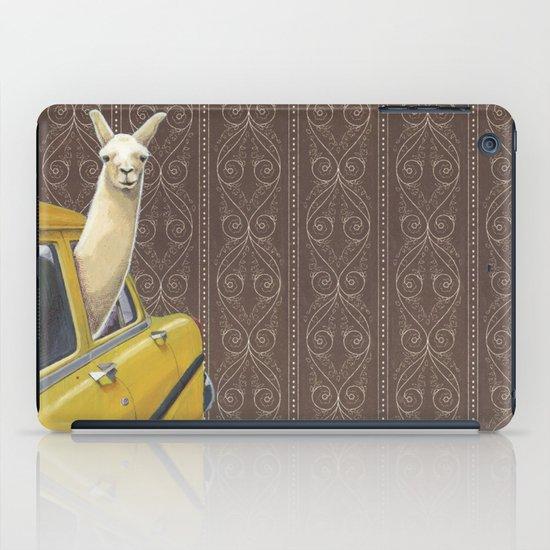 Taxi Llama iPad Case