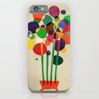 Happy Flowers In The Vas… iPhone 6 Slim Case