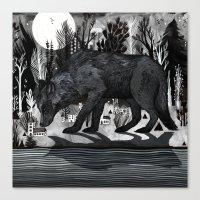Black Shuck Canvas Print