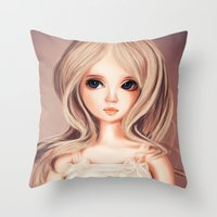 Doll-like Throw Pillow