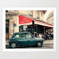 Paris Iles Art Print