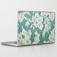 White Lace - Photo Of Vi… Laptop & iPad Skin