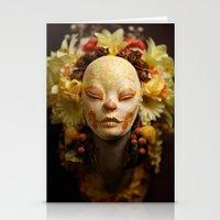 Golden Harvest Muertita … Stationery Cards