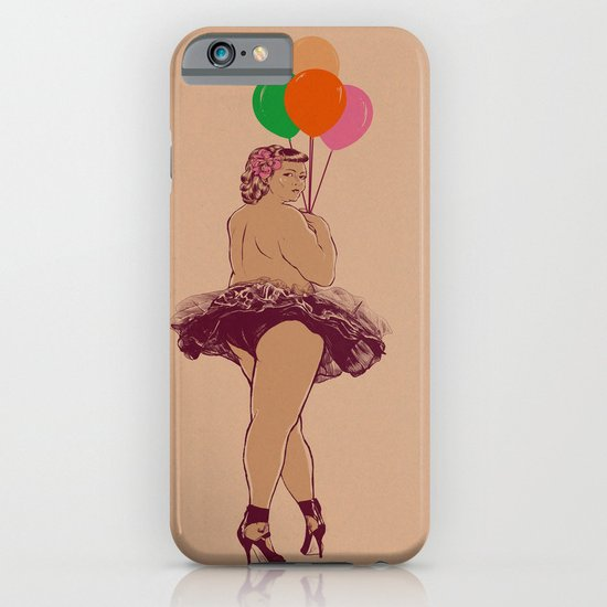 sexy balloon iPhone & iPod Case