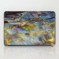 Abstract Blue iPad Case