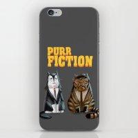 Purr Fiction iPhone & iPod Skin
