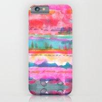 iPhone & iPod Case featuring Kiana Stripe by Schatzi Brown