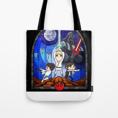 Window to A New Hope Tote Bag
