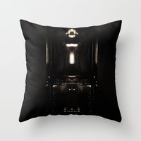 It's Not Totally Dark Throw Pillow