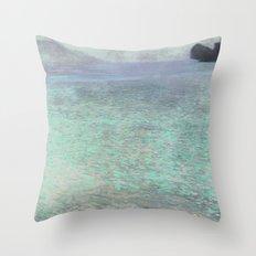 Klimt At Attersee Throw Pillow