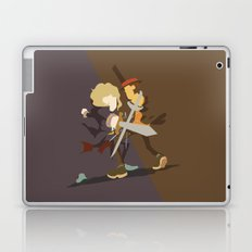 Professor Layton - Anton VS Layton Laptop & iPad Skin