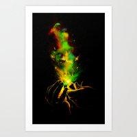 Light It Up! Art Print