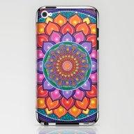 Lotus Rainbow Mandala iPhone & iPod Skin