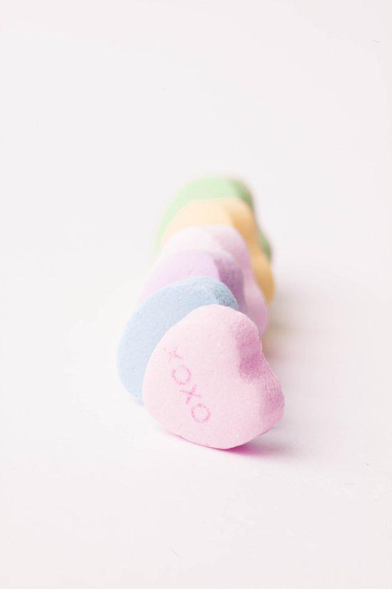 Sending Love - Candy Hearts  Art Print
