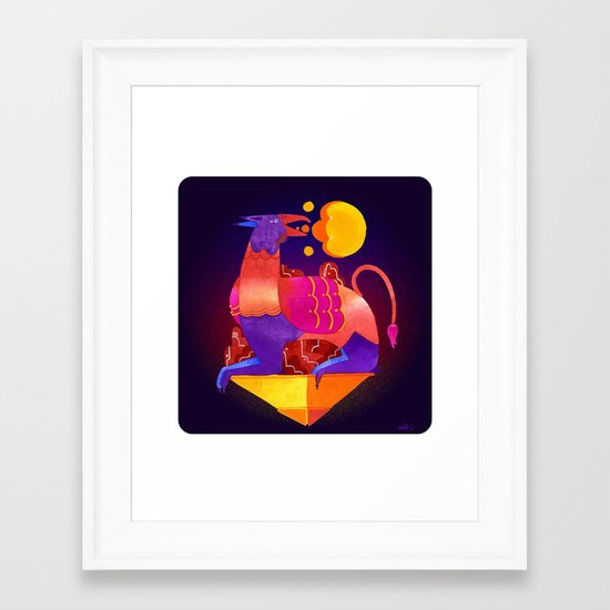 Gaurdian Framed Art Print