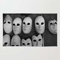 Masks Rug