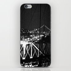 WHITEOUT : Standing 'Top the Bright Lit City iPhone & iPod Skin