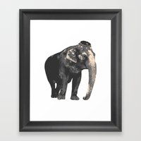 Elijah the Elephant Framed Art Print