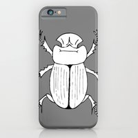 iPhone & iPod Case featuring Dung Beetle by MadamSalami