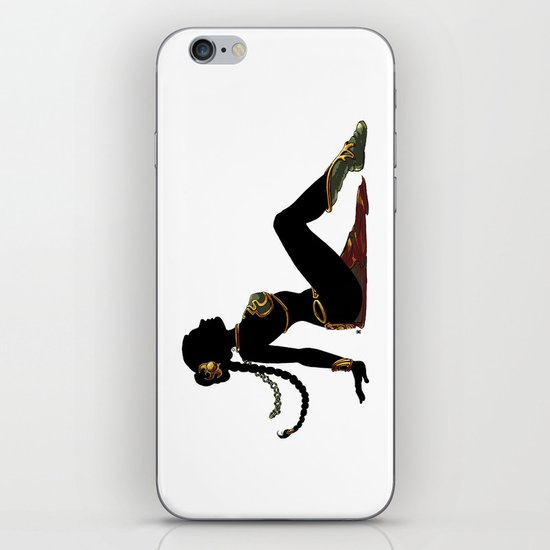 Slave Leia Mudflap iPhone & iPod Skin