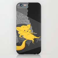 Yellow Chippy iPhone 6 Slim Case