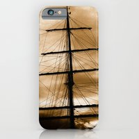 Tall ship mast iPhone 6 Slim Case