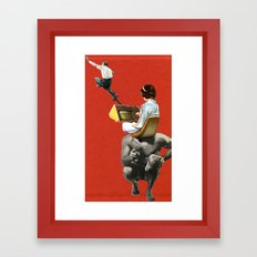 There's No Escape, Or Is There? Framed Art Print