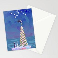 Christmas Flight Stationery Cards
