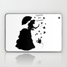 Curiouser and Curiouser Laptop & iPad Skin