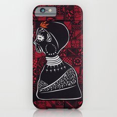 Tribal woman with traditional patterns iPhone 6s Slim Case
