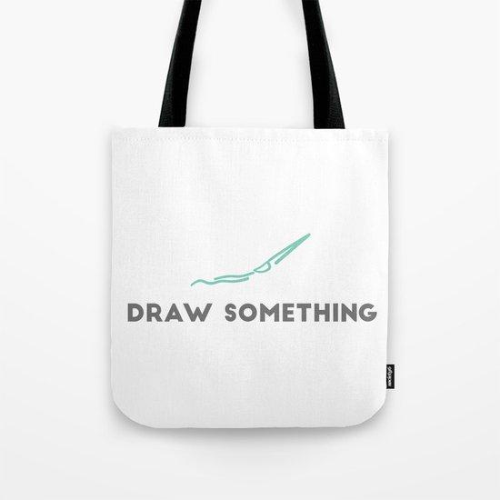 Draw Something Tote Bag