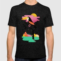 Toucan Mens Fitted Tee Tri-Black SMALL