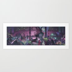 Midnight Cabaret Art Print
