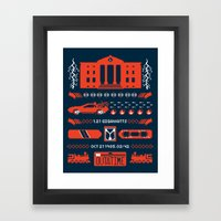 1.21 Stitches Framed Art Print