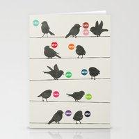 Birdsong Gosh By Rachel … Stationery Cards