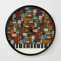 The Well-Tempered Clavier - Bach Wall Clock