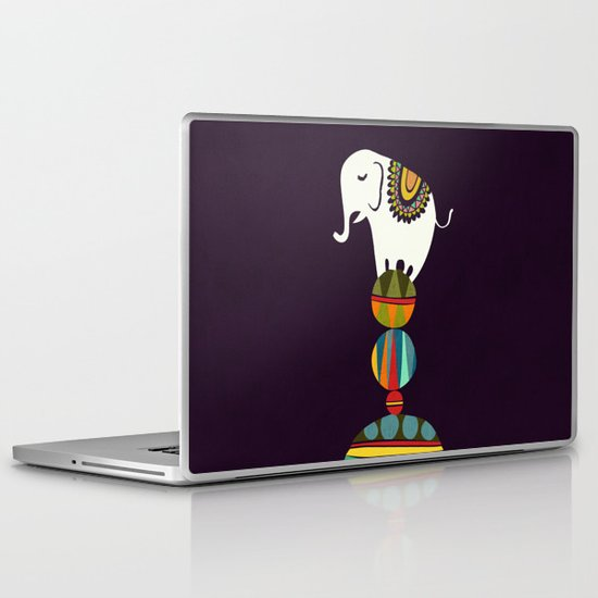 Elephant Circus Laptop & iPad Skin
