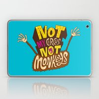 Not My Circus, Not My Monkeys Laptop & iPad Skin