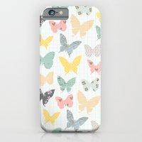 butterflies pattern iPhone 6 Slim Case