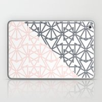 Black and Pink Crop Symmetry Laptop & iPad Skin