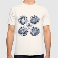 CATS Mens Fitted Tee Natural SMALL