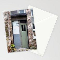 Narrow door Stationery Cards