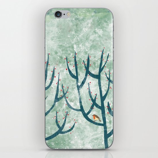 Cold Hedgerow iPhone & iPod Skin