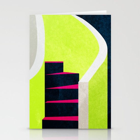 Stairs 03. Stationery Card