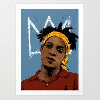 Basquiat Art Print