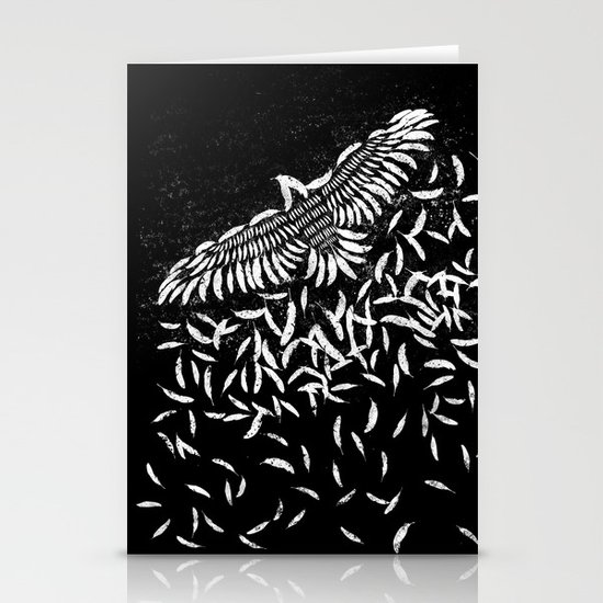 Of a feather Stationery Card